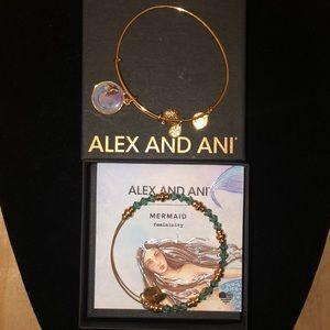 Alex and Ani Femininity Mermaid Bracelets